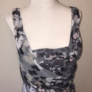 NWT Express Floral Ruched Dress - Sz 6